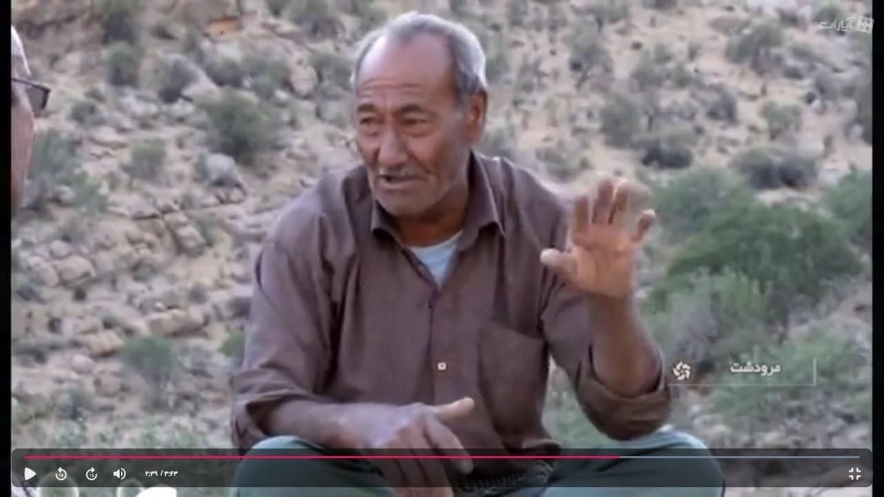 حسین داستان نما 30 سال است که با پای پیاده برای پرندگان کوهستان آبرسانی می کند.