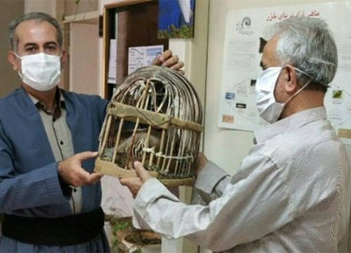 یکی از شکارچیان جوانرود نذر کرده برای بازگشت سلامت به جامعه دست از شکار بردارد.