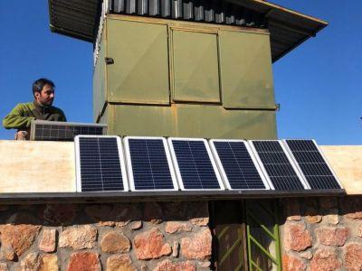انرژی خورشیدی محیط بانی پلنگ دره
