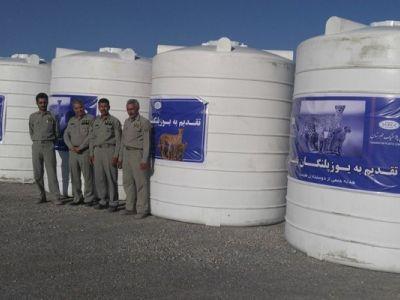 5 مخزن آب برای نایبندان طبس